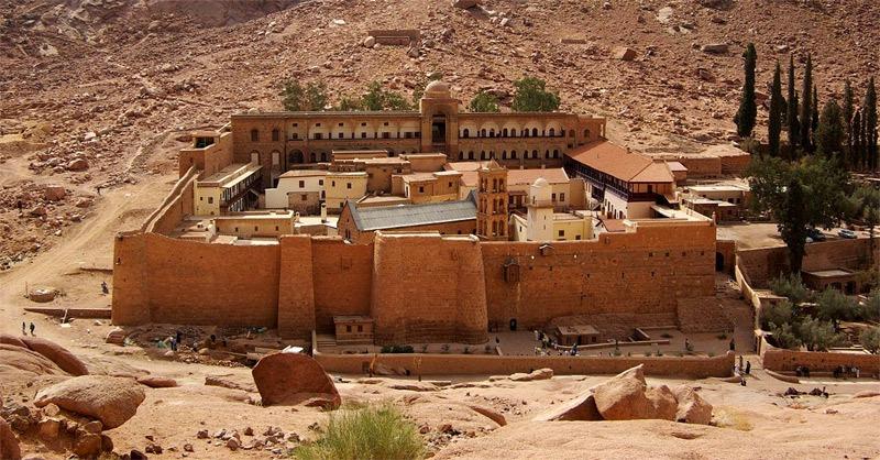 manastir svete katarine sinej egipat
