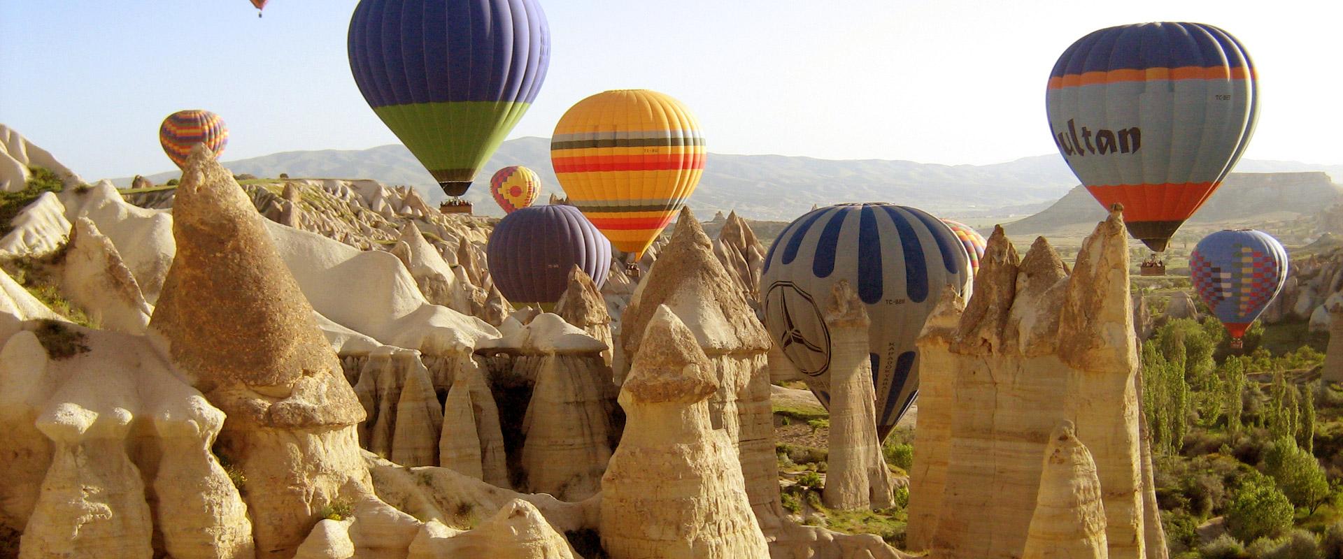 kapadokija obilazak balonom