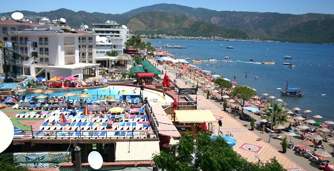 marmaris beach turska